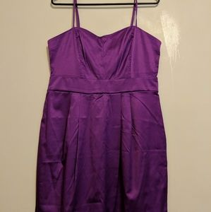 👗 Forever 21 Purple Prom Style Dress Lg